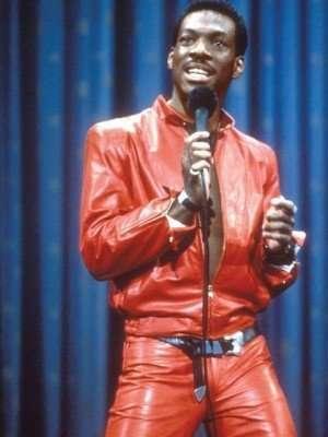 Eddie Murphy Red Leather Jacket