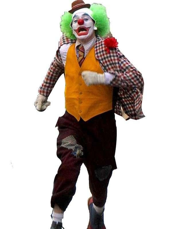 Joker Joaquin Phoenix Yellow Vest