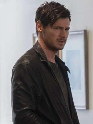 Jessica Jones Erik Gelden Black Leather Jacket
