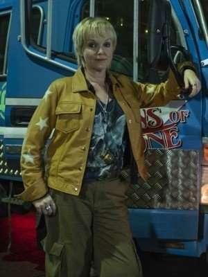 Miranda Curfew Richardson Yellow Leather Jacket