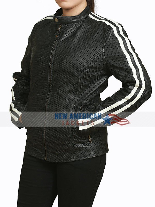NOS4A2 Black Leather Jacket
