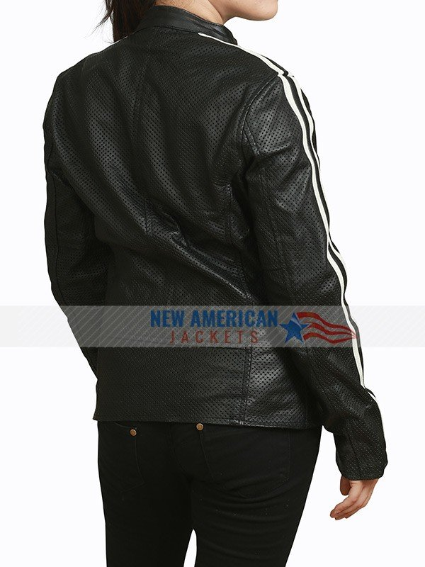 NOS4A2 Vic McQueen Black Leather Jacket