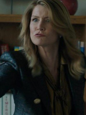 Big Little lies Laura Dern Black Leather Blazer