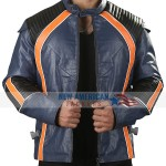 Robinson Family Lost in Space Season 2 Leather Jacket