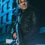 Sean Bean Curfew The General Black Leather Jacket