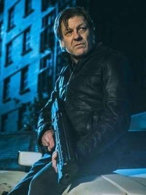 TV Series Curfew The General Genuine Leather Jacket