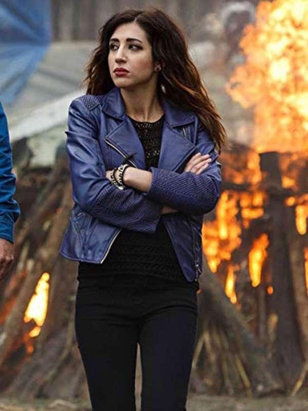 TV Series Ash vs Evil Dead Kelly Maxwell Jacket