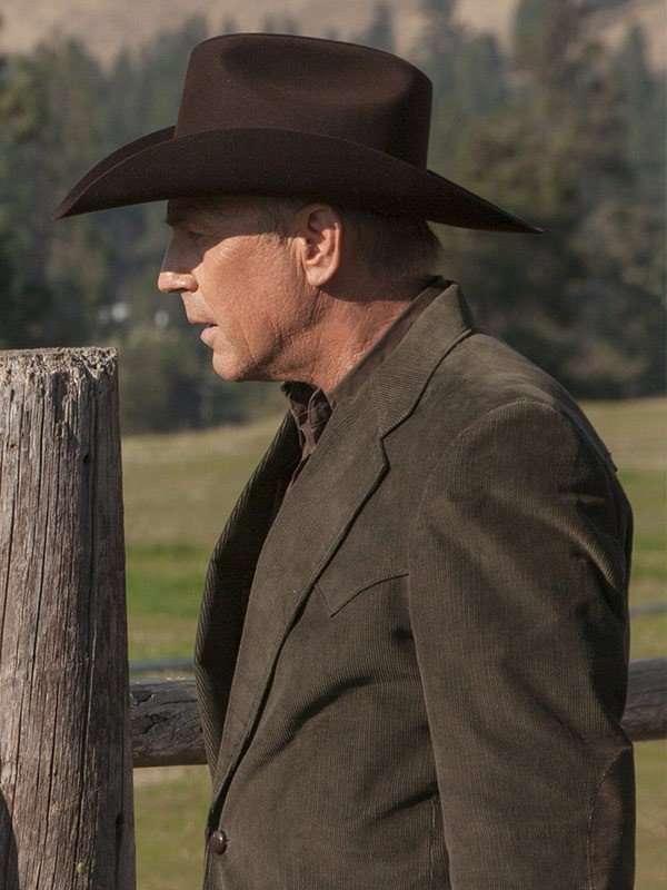 TV Series Yellowstone Kevin Costner Coat