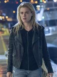 Jessica Jones Rachael Taylor Black Biker Leather Jacket