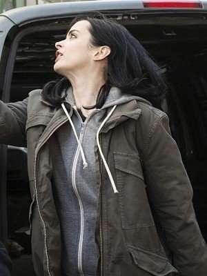 Jessica Jones Krysten Ritter Cotton Jacket
