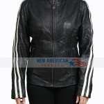 Women's Leather Moto Jacket