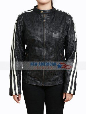 NOS4A2 Black Leather Jacket