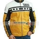 Yamaha Biker Leather Jacket