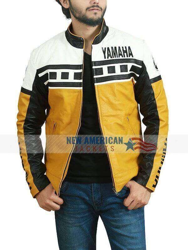 Yamaha Vintage Yellow Moto Jacket