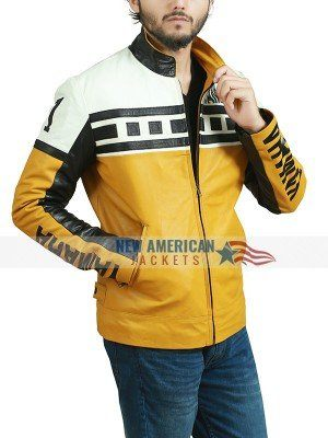 Yamaha Vintage Yellow Moto Jacket