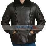 b3 Bomber Real Sheepskin Leather Jacket
