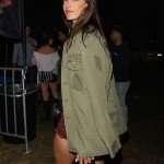 Alessandra Ambrosio Cotton Jacket