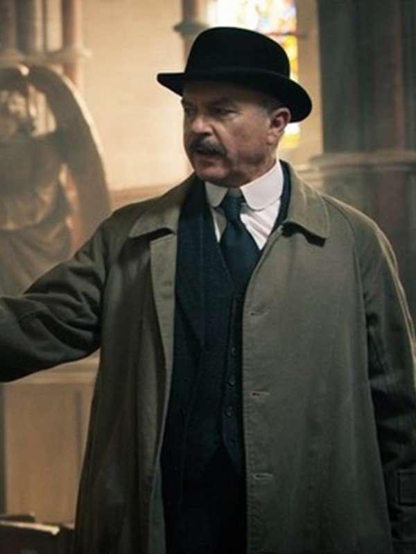 Chester Campbell Peaky Blinders Long Beige Coat