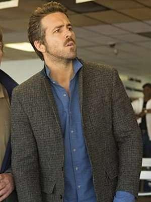 Ryan Reynolds Mississippi Grind Tweed Jacket Coat