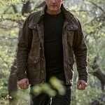 Gerard Butler Green Cotton Jacket
