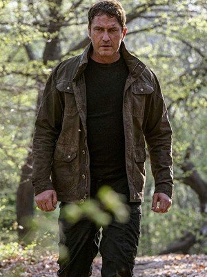 Gerard Butler Angel Has Fallen Cotton Jacket