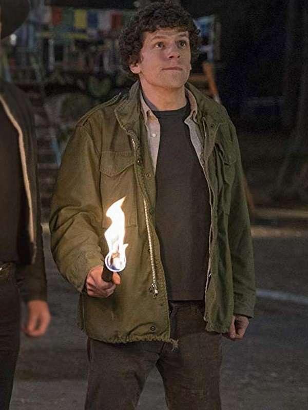 Jesse Eisenberg Zombieland Double Tap Jacket