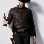 John Dorie Fear the Walking Dead Leather Vest