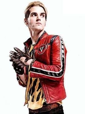 Kobra Kid My Chemical Romance Red Jacket