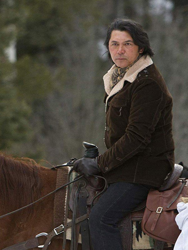 Longmire Henry Standing Bear Brown Coat