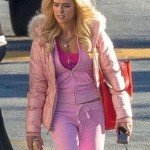 Madison Zombieland Double Tap Pink Puffer Jacket