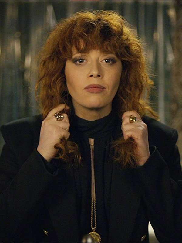 Nadia Vulvokov Russian Doll Black Blazer