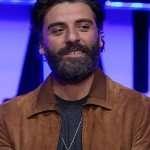 Oscar Isaac Suede Jacket