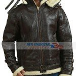 R.A.F Sheepskin Bomber Leather Jacket