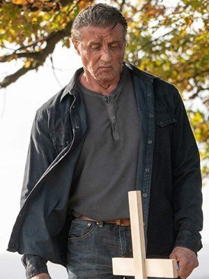 Rambo Last Blood Sylvester Stallone Rambo Black Cotton Jacket