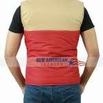 Red Puffer Stranger Things Vest