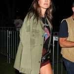 Rolling Stone Alessandra Ambrosio Green Jacket