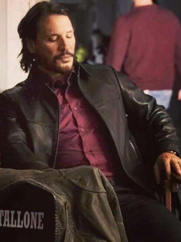 Sergio Peris-Mencheta Black Jacket