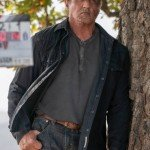 Sylvester Stallone Cotton Jacket