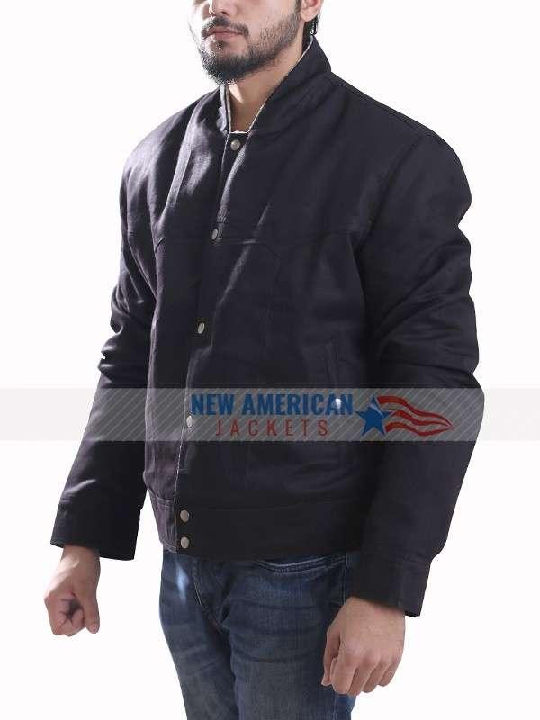 Tallahassee Woody Harrelson Black Jacket