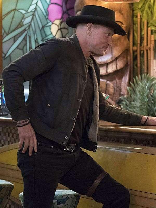 Woody Harrelson Zombielan 2 Jacket