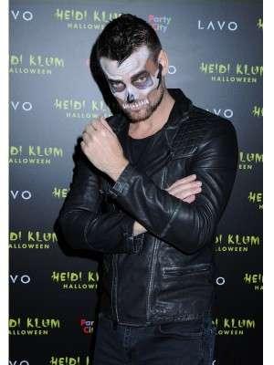 singer-songwriter Adam Lambert Halloween Party Leather Jacket