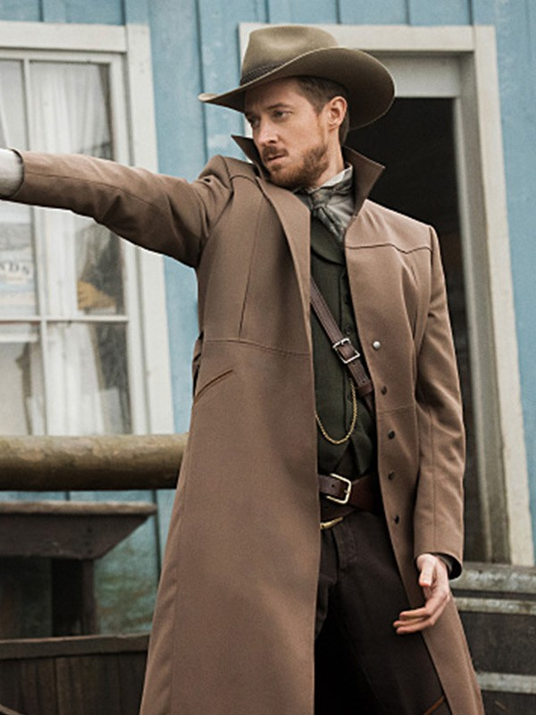 Arthur Darvill Legends of Tomorrow Cotton Coat