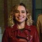 Emilia Clarke Last Christmas Kate Jacket