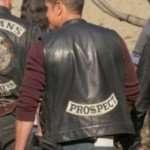Ezekiel Reyes Mayans M.C Black Leather Vest
