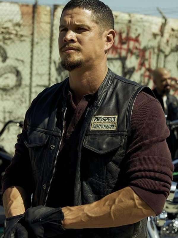 Ezekiel Reyes Mayans M.C Leather Vest