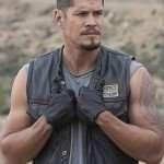 JD Pardo Mayans M.C Ezekiel Reyes Leather Vest