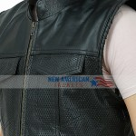 Mayans Leather Vest