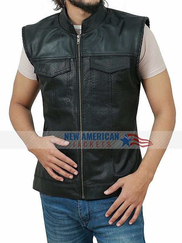 Mayans MC Leather Vest