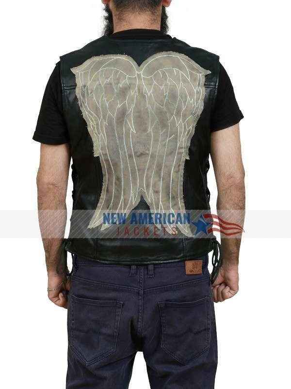 Norman Reedus The Walking Dead Leather Vest