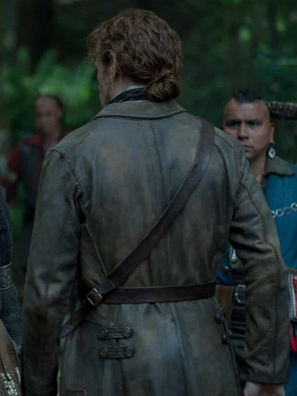 Outlander Sam Heughan Trench Coat